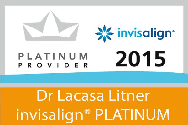 Invisalign® Platinum para el Dr Lacasa Litner