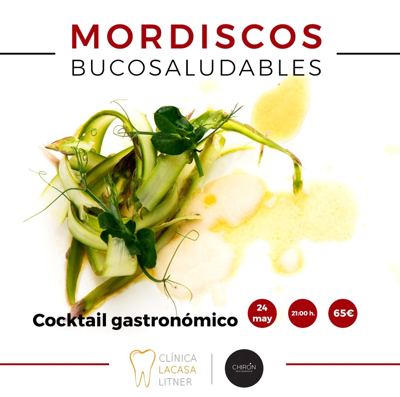 III edición del cóctel gastronómico Mordiscos Bucosaludables