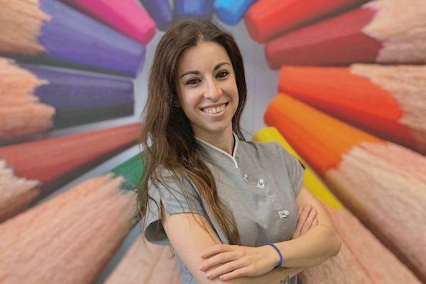 Paula Alonso higienista dental valdemoro