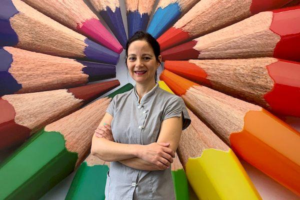 Raquel Velázquez higienista dental valdemoro